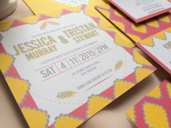 jessia and tristan wedding details