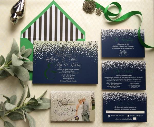 John and Katie wedding invitations