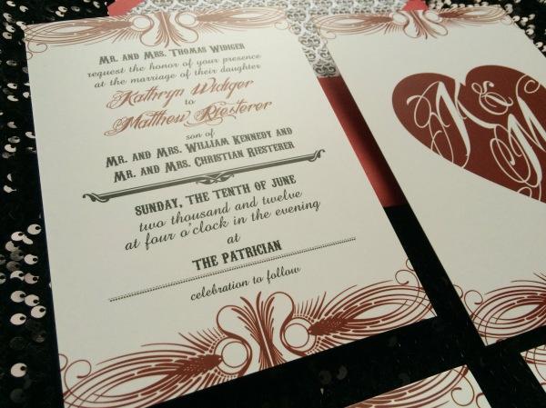 Matt and Kathy Wedding details