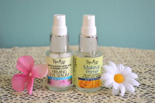 Reviva eye serum and primer