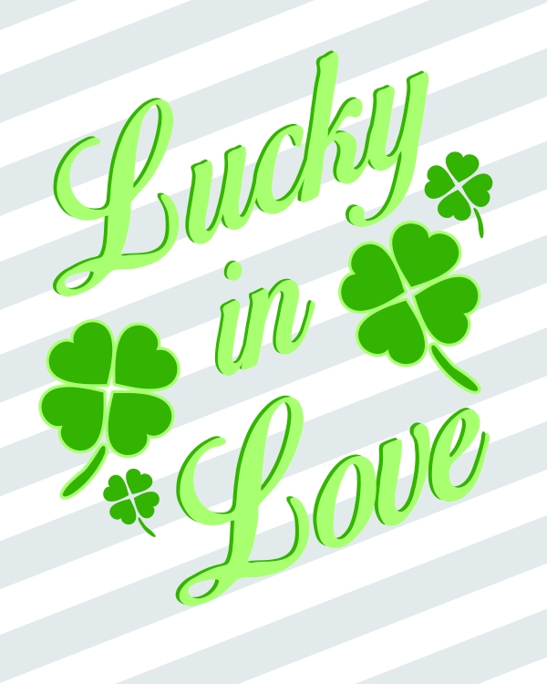 0 free printable St. Pattys Day all green